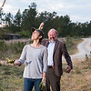 BTS, Xander Berkeley as Gregory, Lauren Cohan as Maggie Greene - The Walking Dead _ Season 7, Episode 15 - Photo Credit: Gene Page/AMC