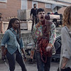 Danai Gurira as Michonne, Nadia Hilker as Magna, Avi Nash as Siddiq - The Walking Dead _ Season 9, Episode 7 - Photo Credit: Gene Page/AMC