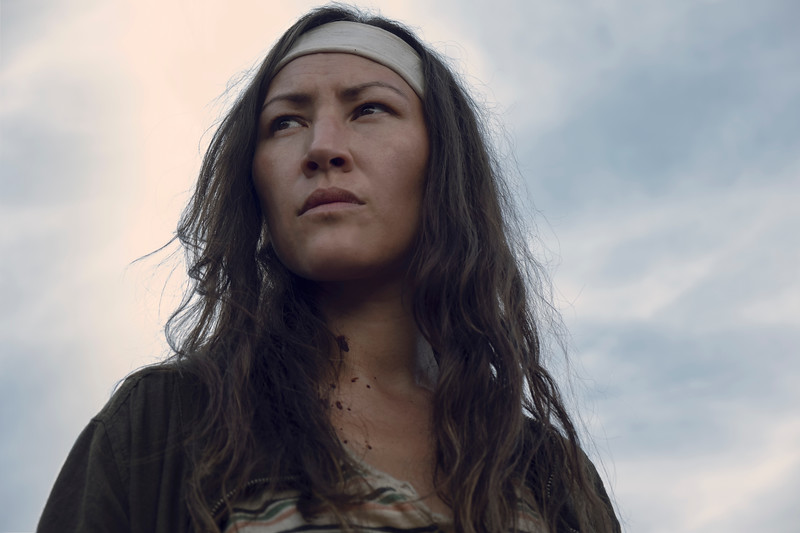 Eleanor Matsuura as Yumiko - The Walking Dead _ Season 9, Episode 7 - Photo Credit: Gene Page/AMC