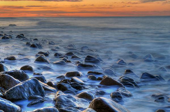 Montauk Point at Sunset