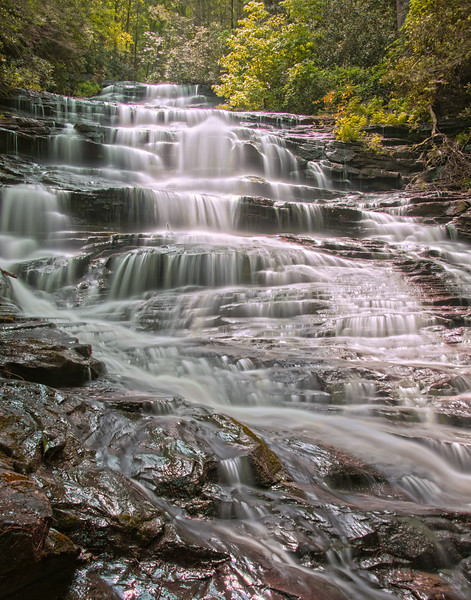 Minnehaha Falls in North Georgia