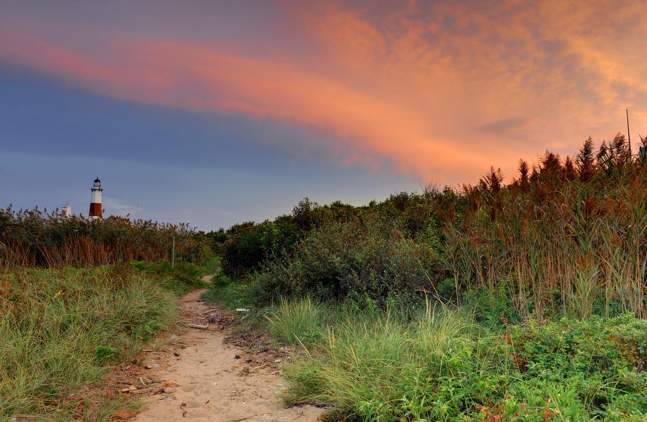 Sunset at Montauk Lighthouse