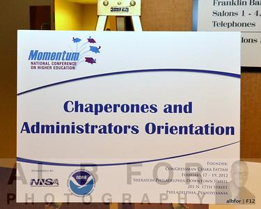 Chaperones & Admin Orientation