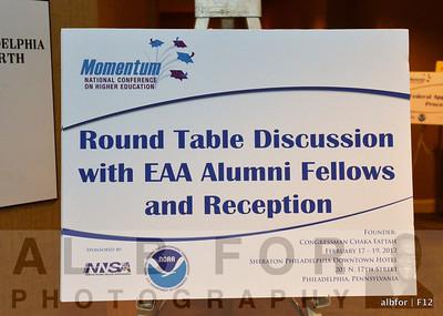 Round Table Discuss W/ EAA Alumni Fellows