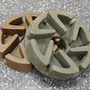250mm marble-polishing abrasive wheels for radial arm polishers