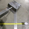 Adjustable foot for awning project.