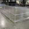 84' aluminum railing