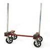 Light Weight Contractor Buggy<br /> Part Number 52515<br /> This is a simple, compact buggy great for job site work.  The angled posts are removable so you can easily store and transport the unit.  Solid rubber pads are angled, so finished material will not get scratched.  All of the wheels swivel for ease of movement.