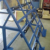 6' Rollover Cart with rubber rollers<br /> Part Number 52068 SP<br /> Rollover Cart with rubber rollers added for ease of material movement.