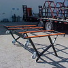 6' Rollover Cart<br /> Part Number 52068<br /> The cantilever design allows the table to be used as a work surface and transport cart.