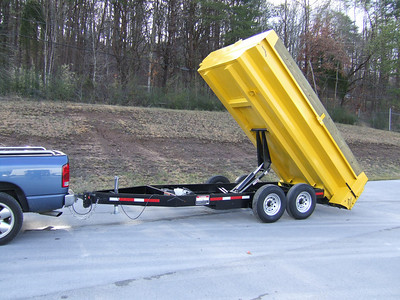 G-Force Commercial Duty 14' Smart Dump
