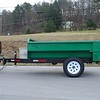 6' X 8' model rated at 5,000 pounds. Features tw0-way tailgate and available with sliding ramps. Clamshell hydraulics from TBEI. Equipped with electric or hydraulic brakes.