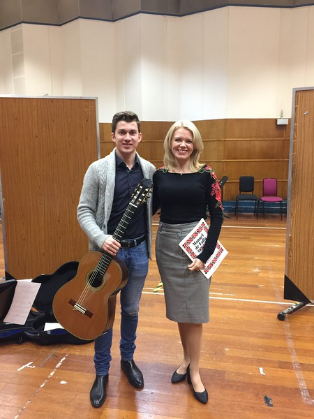 BBC Radio 3 New Generation Artist recording with guitarist Thibaut Garcia