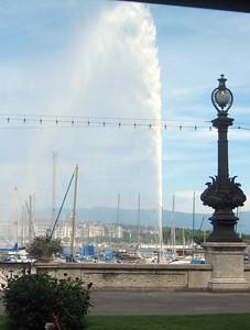 "Geneva's Fountain or ""Jet d'Eau"""