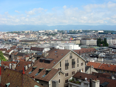 From left to right--View from the top of Saint Peter's, panorama #1