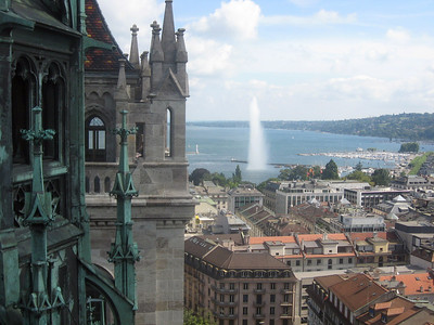 View from the top of Saint Peter's Cathedral