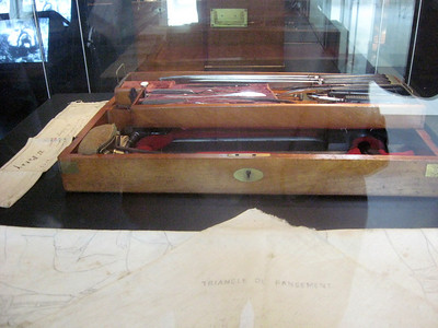 A 19th century surgical kit from the Franco-German war
