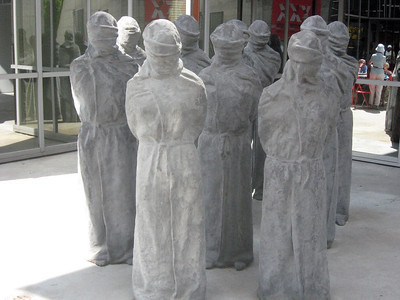 """Carl Bucher: """"The Petrified""""--denounces the violation of human rights and appeals for tolerance"""