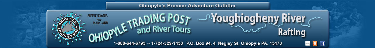 Graphic Design Images for 2013 Ohiopyle Trading Post Website