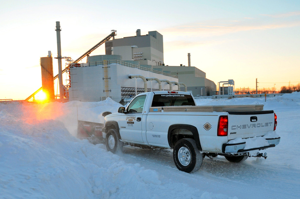 Snow Removal, Cargill Malt, Spiritwood, ND