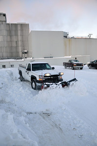 Snow Removal, Cargill Malt, Spiritwood, ND
