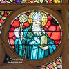 Choir Loft Rose Detail - St. Ambrose