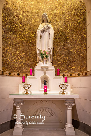 """Shrine of St. Therese of Lisieux, the """"Little Flower"""""""