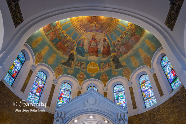 Blessed Mural / Stained Glass Sacraments