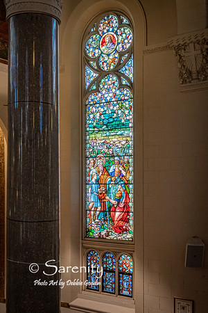 South Vertical - Zacharia Window
