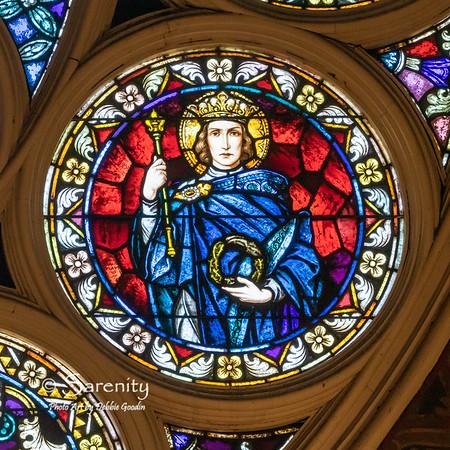 North Rose Detail - Saint Louis of France