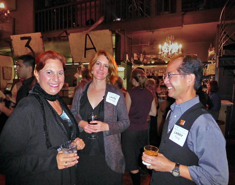 Janet Palma, Laura Thompson, Larry Tong