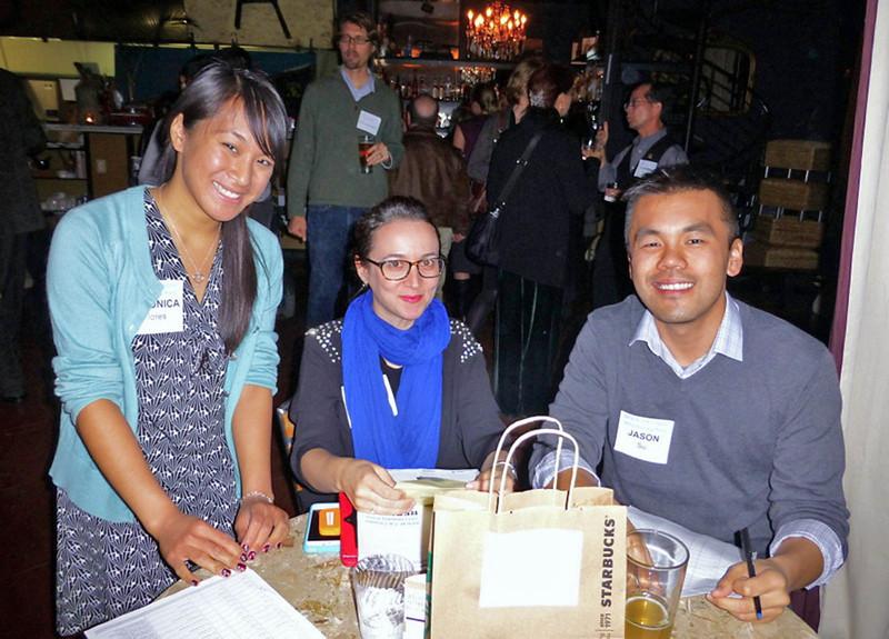 Veronica Flores, Tania Sheyner, Jason Su