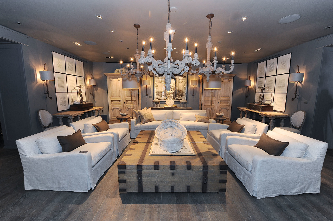 ROOM K  is seen at Restoration Hardware Beverly Boulevard Official Store Opening in West Hollywood, CA on Friday, June 24, 2011. (SavageWinn)