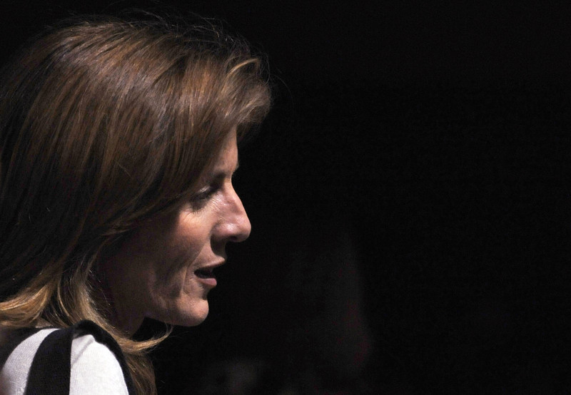Caroline Kennedy Schlossberg attends the Women's Conference 2009 Night at the Village at The Long Beach Convention Center on Monday Oct. 26, 2009, in Long Beach, Calif. (AP Photo/Katy Winn)