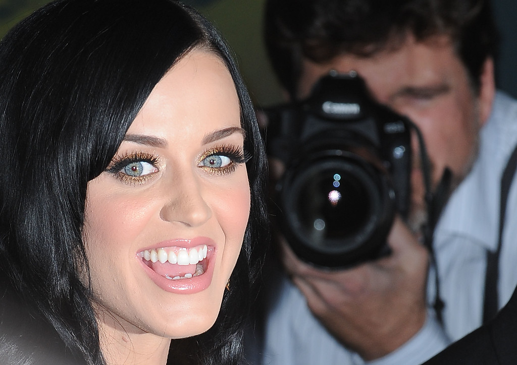December 1, 2010: Katy Perry arriving at GRAMMY Nominations Concert Live at The Congo Room in Los Angeles, California.<br /> Credit: INFevents.com  Ref.: infusla-198/199