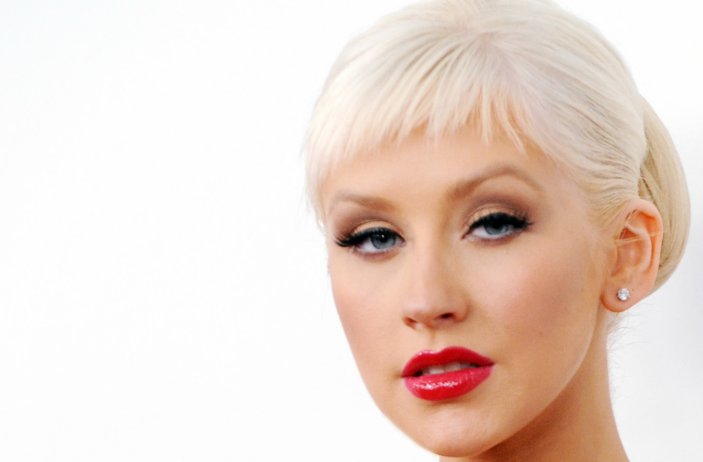Recording artist Christina Aguilera arrives at the Grammy Nominations concert live held at the Nokia Theatre LA Live on December 3, 2008 in Los Angeles, California. (Photo by Katy Winn/Corbis)