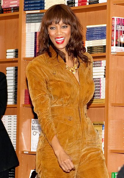Celebrity 2011: Tyra Banks NOV 04