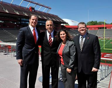 April 29 2012: Rutgers' Athletics in Piscataway, New Jersey.