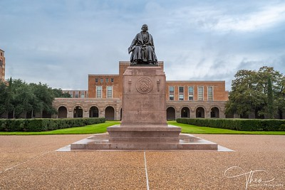 Rice University -Willy's Statue