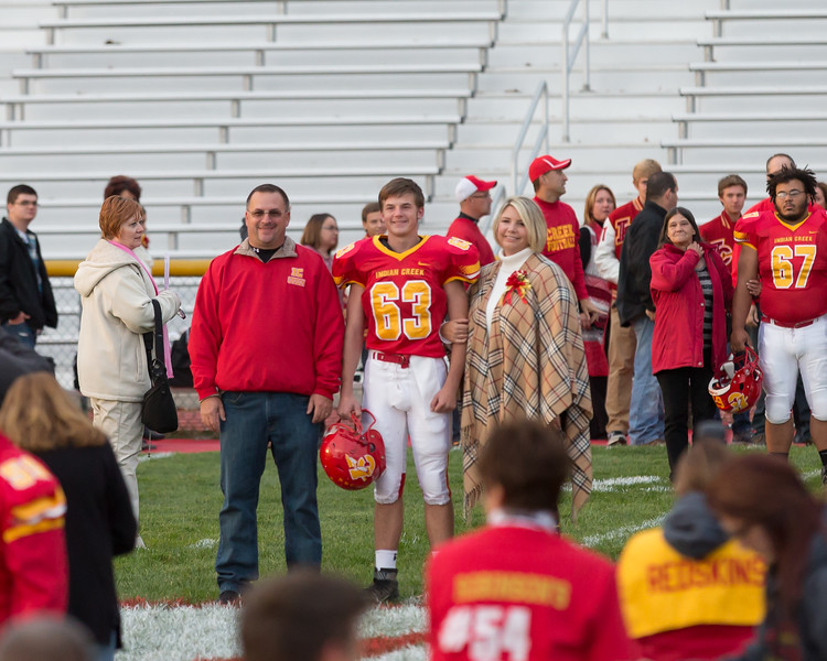 10-ICHS Football Sr Night 2015