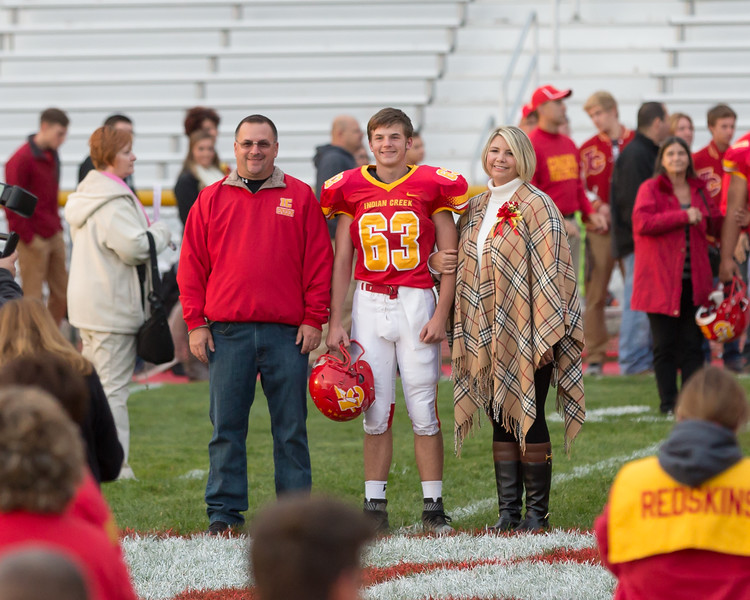11-ICHS Football Sr Night 2015