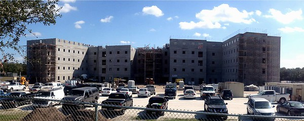 October 23, 2012 - New IMG Academy Residence Hall