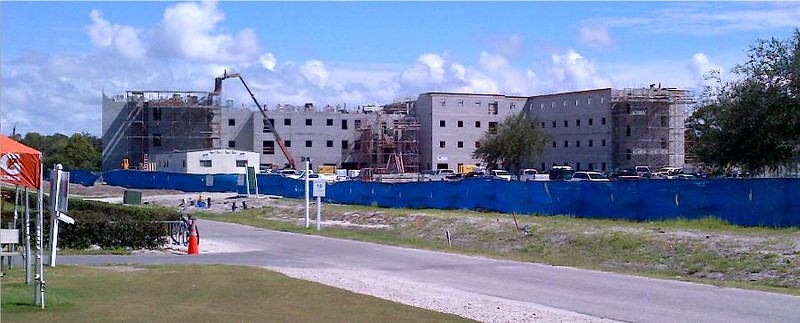 October 1, 2012 - New IMG Academy Residence Hall