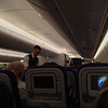 Interior of the nice new 747.