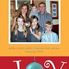 A family Christmas card