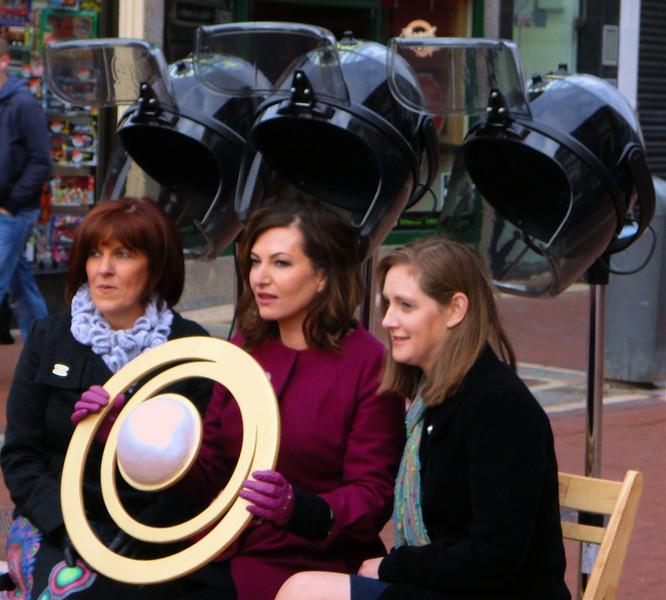 Wandering Dublin -- uh, open-air hair care?
