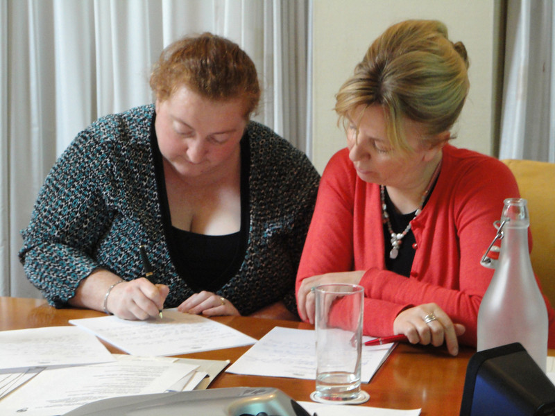 Describing happens!  Michelle Coffey and Judith Meleady
