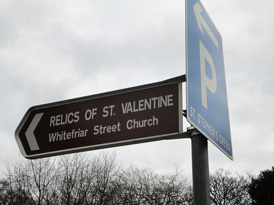 "St. Valentine lives!  (Well, at least his ""relics"" are available ...)"