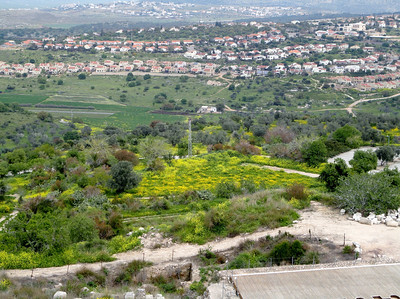 3 of 6, left to right panorama of the view from The Citadel.
