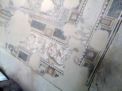 Mosaics at the Zippori National Park.